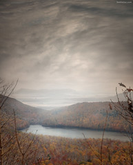 Indian Summer (Ben Heine) Tags: trees light red mist mountain lake canada reflection art fall nature leaves yellow fog clouds forest automne season print landscape vent 3d nikon colours dof wind quebec pov lumire montreal couleurs horizon hill lac peaceful unesco biospherereserve valley freeze environment rest quite breathe t copyrights depth saintlaurent infinite fort feuilles calme indiansummer volume ecosystem montagnes patrimoine highres endangeredspecies saison unkown collines fullquality valle profondeur oxygene montsainthilaire geler protectedarea richelieuriver tindien thesuperbmasterpiece saintlawrenceplain infotheartisterycom