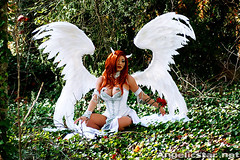dawn13 (yayahan.com) Tags: angel joseph dawn for michael costume wings heaven cosplay earth birth egg hell goddess redhead demon devil cry yaya rebirth han linsner angelicstar