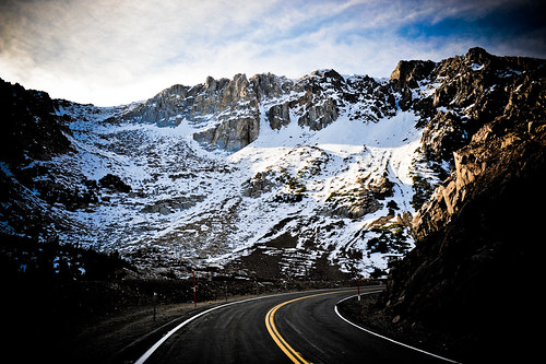 Yosemite : Tioga pass bend