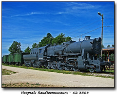 52 3368 (foje64) Tags: estonia locomotive steamengine railwaymuseum steamlocomotive haapsalu haapsalurailwaymuseum haapsaluraudteemuuseum raudteemuuseum 523368