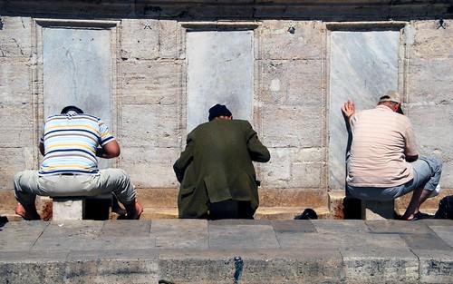 the washing ritual, istanbul