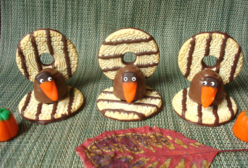Cookie Turkeys for Serious Eats