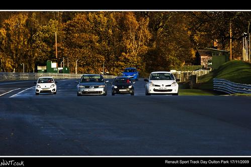 Renault Sport Oulton Park Track Day 17/11/2009 Multiple Modern Renault