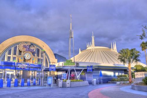 Disney Space Mountain