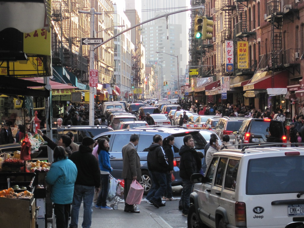 Mott Street, looking south