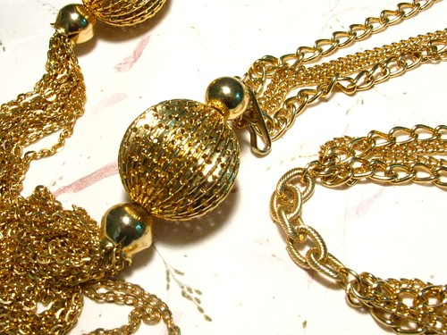 Long Vintage Gold Chain Tassel Necklace or Belt on Flickr - Photo Sharing! from flickr.com