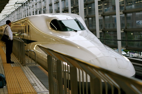 We rode this Bullet Train