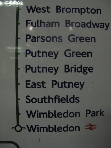 Putney Green station doesn't exist! by Helen Duffett