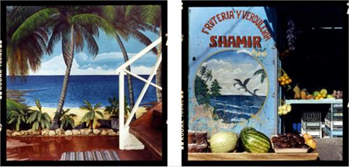 Playa Chiquita y Shamir, 2007. De la serie Pictografías de Cinthya Soto.