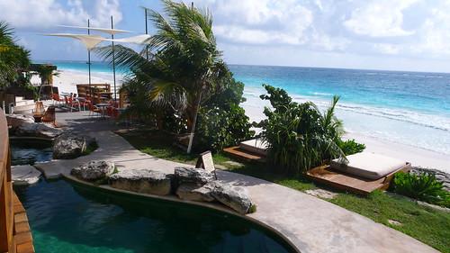 Tulum 旅館: Mezzanine