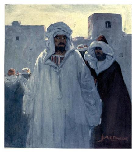 005-Amanecer en Mazagan-Morocco 1904- Ilustraciones de A.S. Forrest