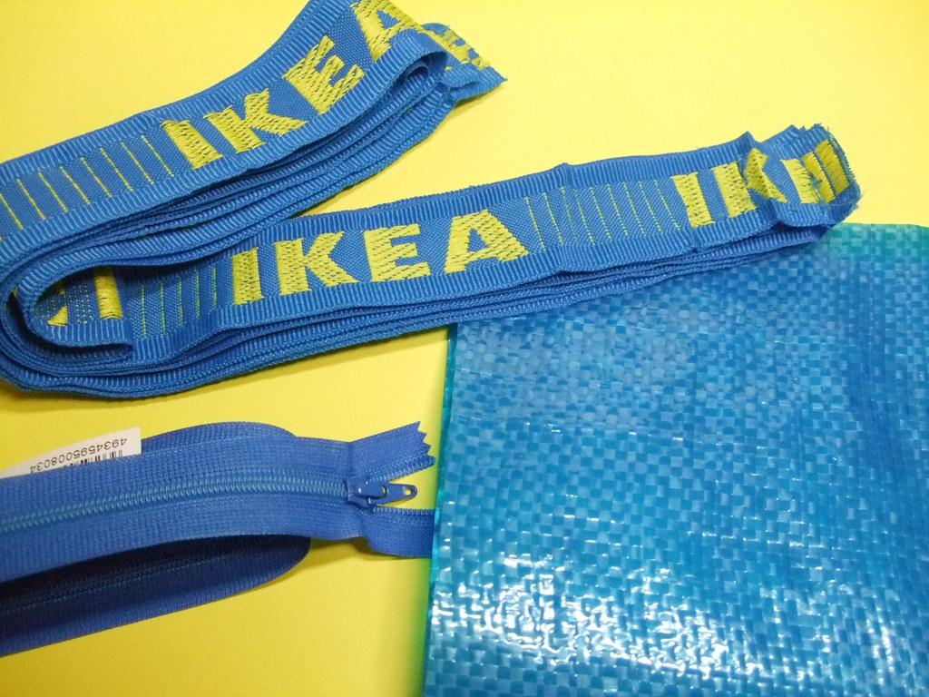 IKEAのショッピングバッグのパーツ