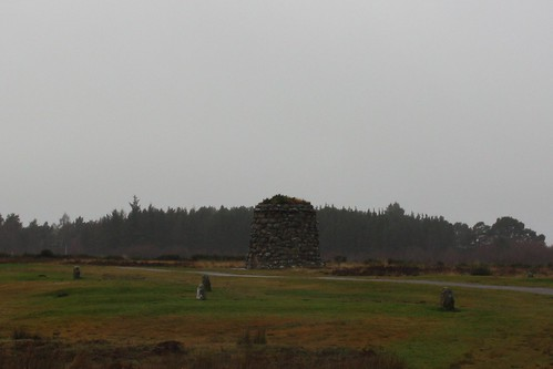 memorials at Culloden Battlefield