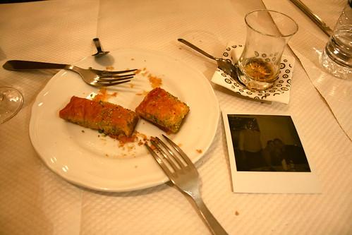 dessert at Yeliz