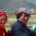 China - Tibetans on a Motorcycle