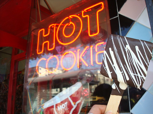 Brownie on a Stick, Hot Cookie, SF