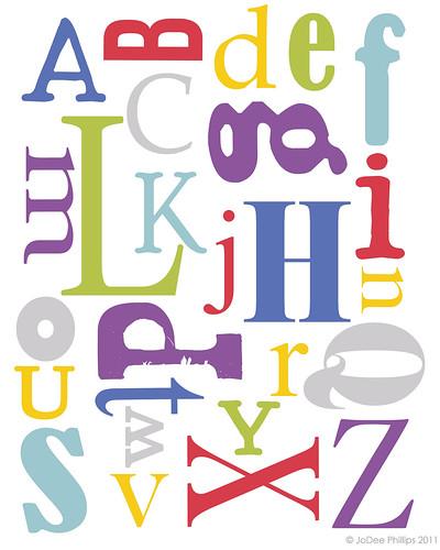 alphabet copy