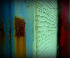 COLOUR;S (billy con) Tags: old macro lines scotland rust c