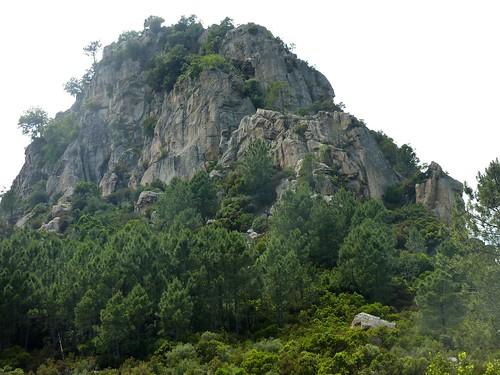 Col Nord du Castellacciu : arête Nord et face Est du Castellacciu