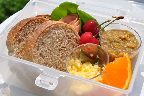 bread lunch bento