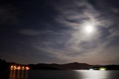 Moonlight (josefto) Tags: longexposure summer moon nature water night canon stars photography 350d noche agua pantano luna estrellas moonlight largaexposicion pantanosanjuan flickraward ringexcellence blinkagain bestofblinkwinners