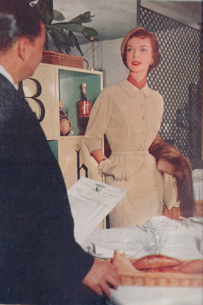 Ladies Who Lunch-Fashion Article 1955