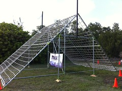 Spartan Race Obstacles made with Kee Klamp
