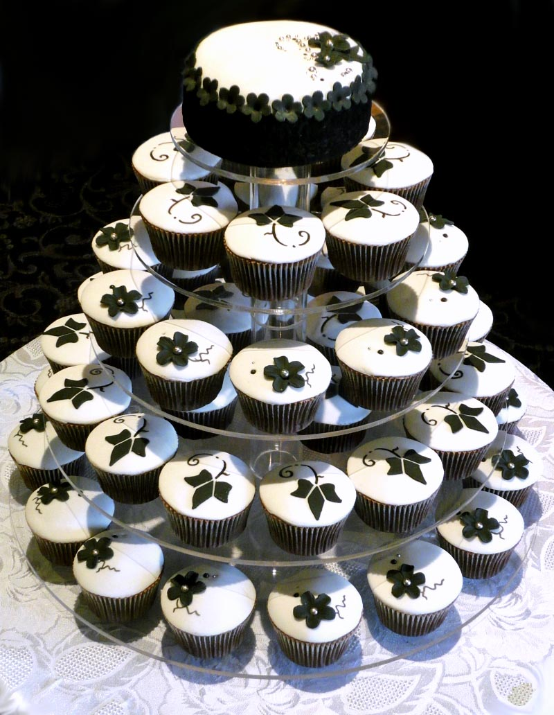 Floral Baroque Wedding Cakes