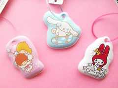 Kawaii Sanrio Characters Novelty Phone Display Cleaner Mascot (Kawaii Japan) Tags: pink blue red white cute animals japan asian japanese promo phone display character cell charm sanrio mascot collection novelty kawaii kiki cleaner puffy lala collectibles cinnamoroll novelties omake mymelody littletwinstars sanriocharacter displaycleaner