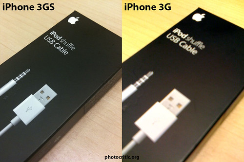 Thumb La cámara del iPhone 3G versus el Autofocus del iPhone 3GS