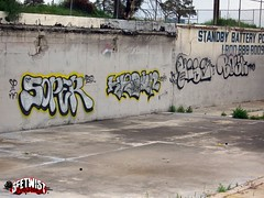 Denver (Mr. Blonde.) Tags: graffiti albuquerque denver freeway i25 hise soper bosk krown
