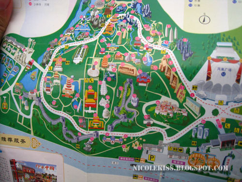 china folk culture villages map 1