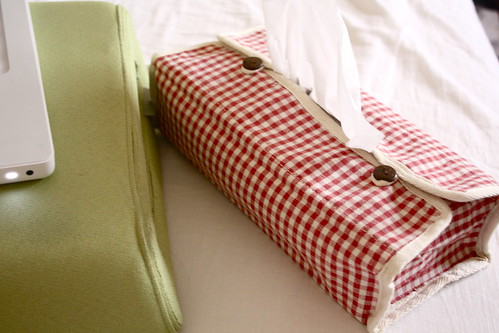 Cuteeee Tissue box cover thingii by Chu❤, on Flickr