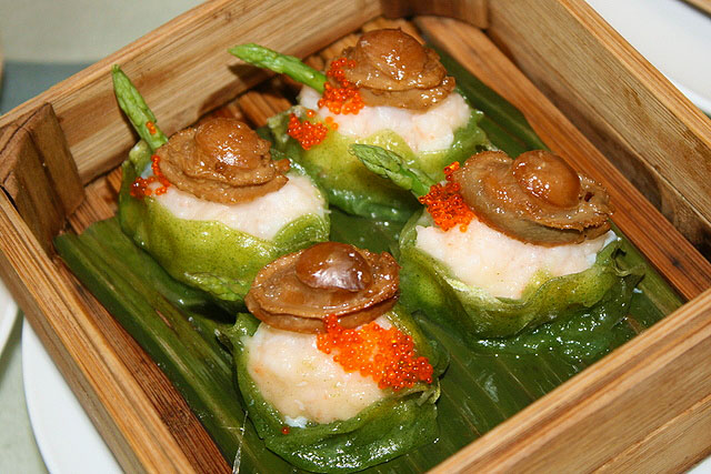 Steamed Mini Abalone Dumpling