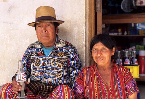 Solola Couple Guatemala by Ilhuicamina