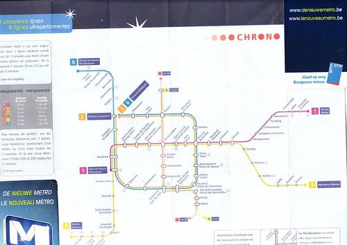 metrokaartbrussel