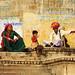 Familia a Udaipur