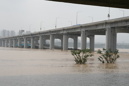 The Flooding of Banpo Bridge