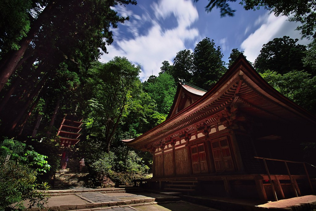 Summer at Murou-ji Temple