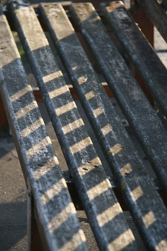 Stripey Bench