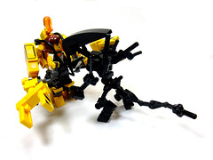 Ripley and the Alien (Crimson Wolf) Tags: power lego alien aliens loader