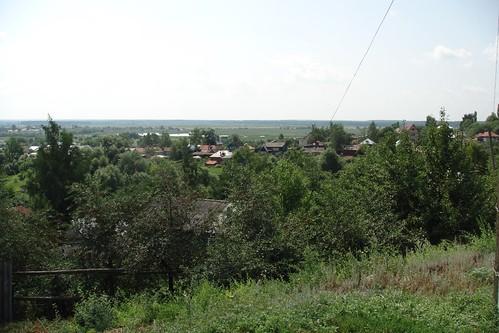 """Вид с бугра (кирсановский """"Кавказ"""") на юго-запад"""