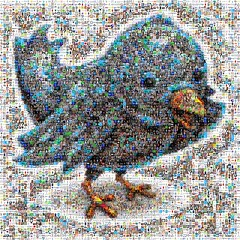 Twitter Follower Mosaic
