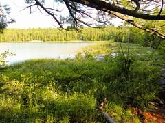 Un des lacs de la péninsule