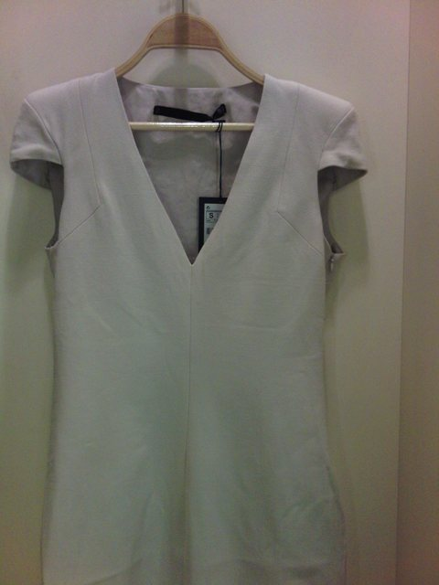 Zara shoulder dress