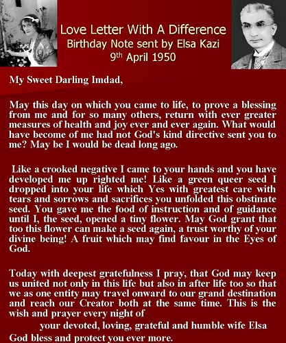 a love letter with a difference elsa kazi writes a birthday note to her husband