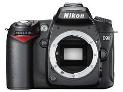 Nikon D90_front_l
