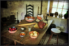 Washington's Kitchen (janinebroscious) Tags: stilllife texture cooking kitchen museum nikon pennsylvania availablelight colonial headquarters historic pa americanrevolution georgewashington valleyforge nikond90 17771778 joessistah