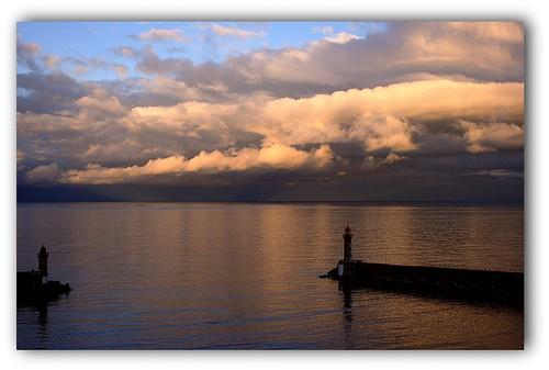 Horizon nuageux