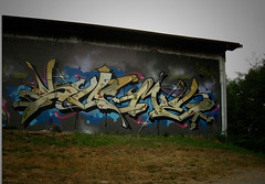 Gloomy Summer (Scotty Cash) Tags: vancouver graffiti bc gibsons 2009 nwk sueme